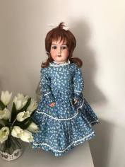 23 inch Antique Bisque Doll Re-string - £45.00