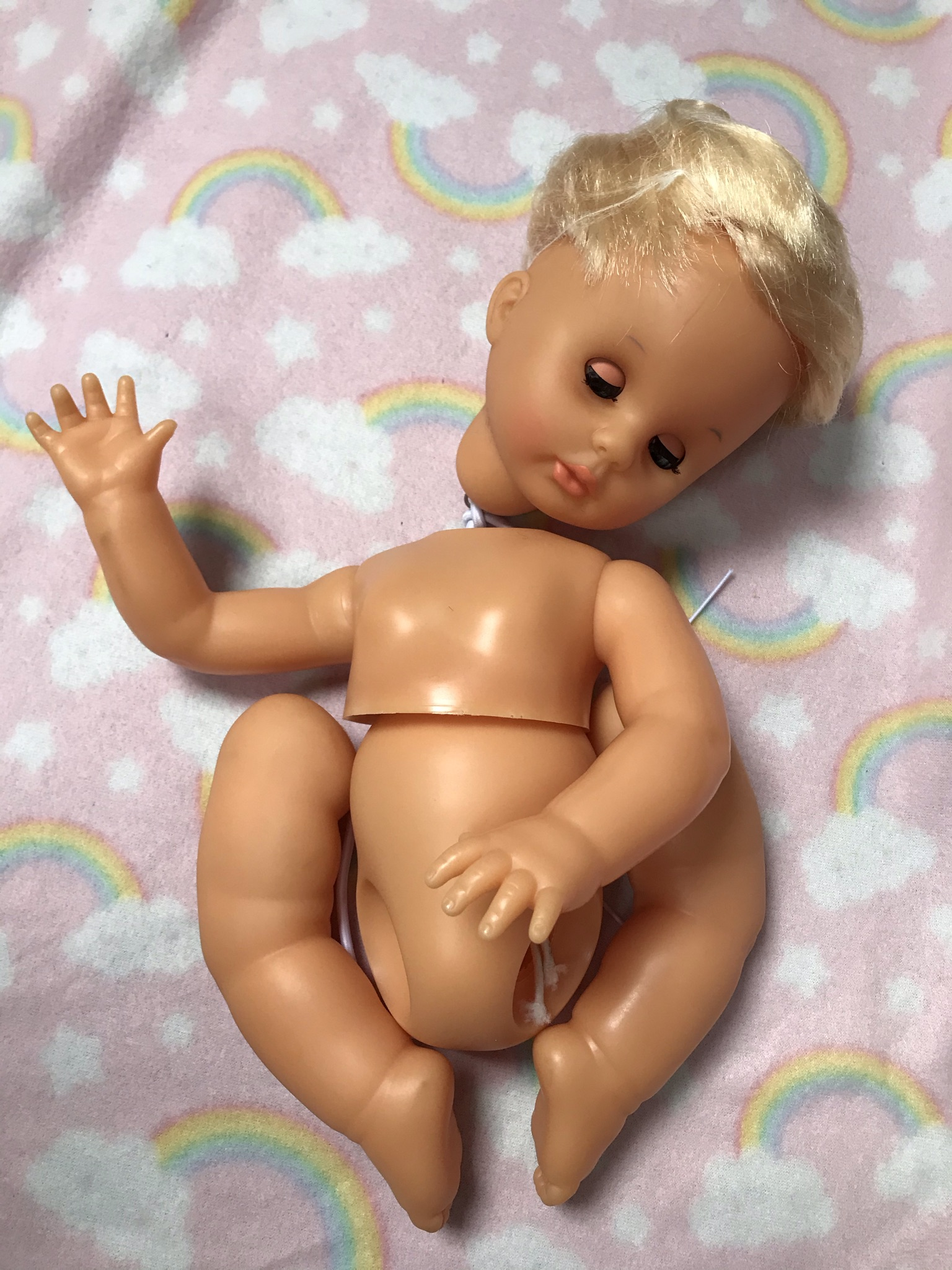 Vintage First Love Doll - Before